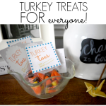 Turkey toes +free printable