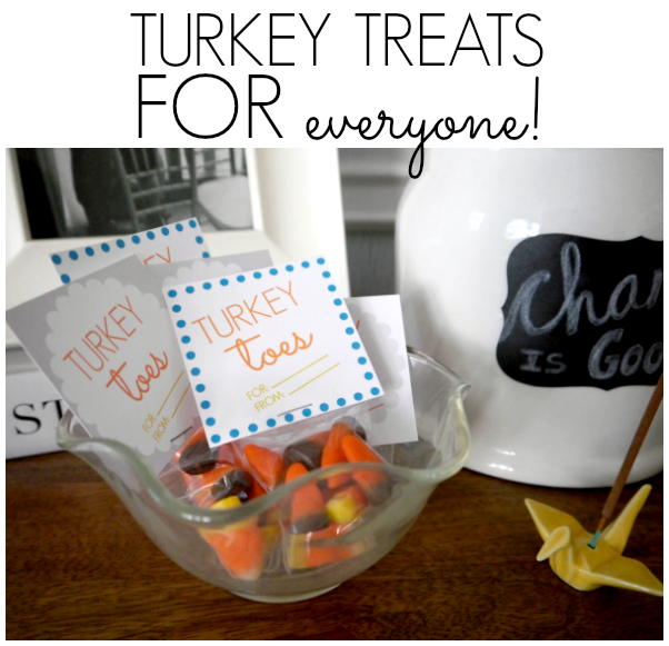 Thanksgiving treats for the classroom, mailman, neighbor, or turkey day!