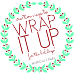 Wrap it Up #1: Brown bags, dish towels, and washi tape