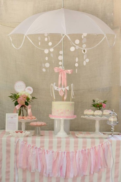 Baby sprinkle shower