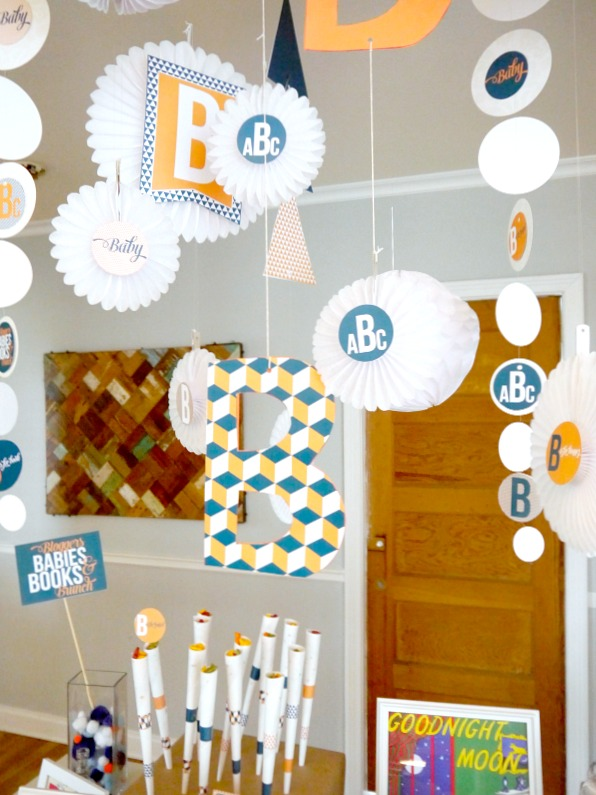 B is for baby shower ideas