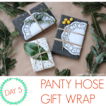 Wrap it Up #9: Panty hose gift wrap