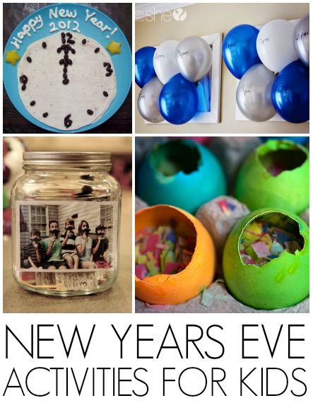Things For Kids To Do On New Years Eve