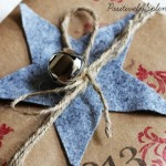 Wrap it Up #7: Kraft paper and stamp gift wrap
