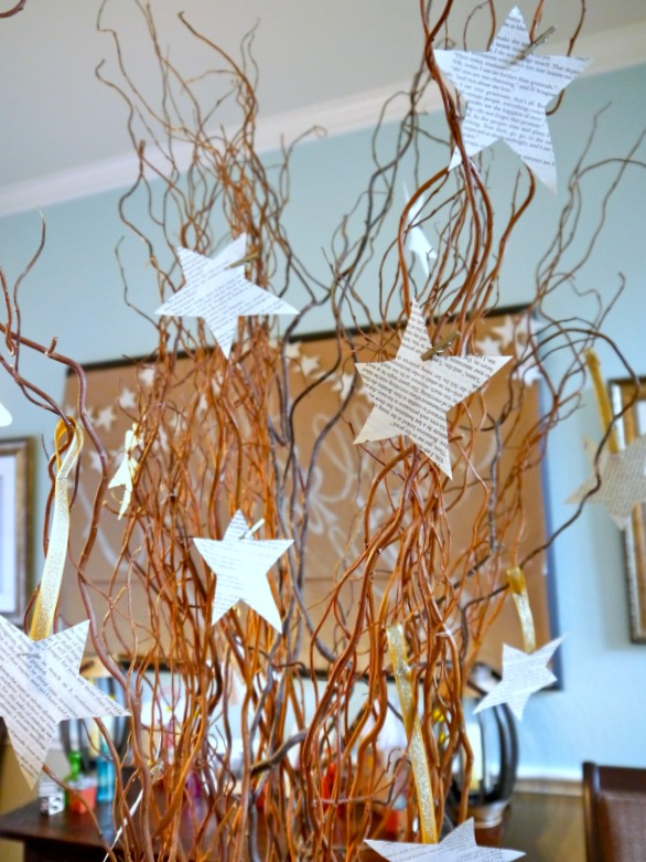 Modern twinkle twinkle little star baby shower