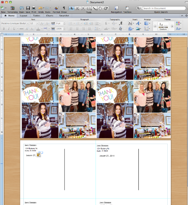 How To Make Postcards In Microsoft Word