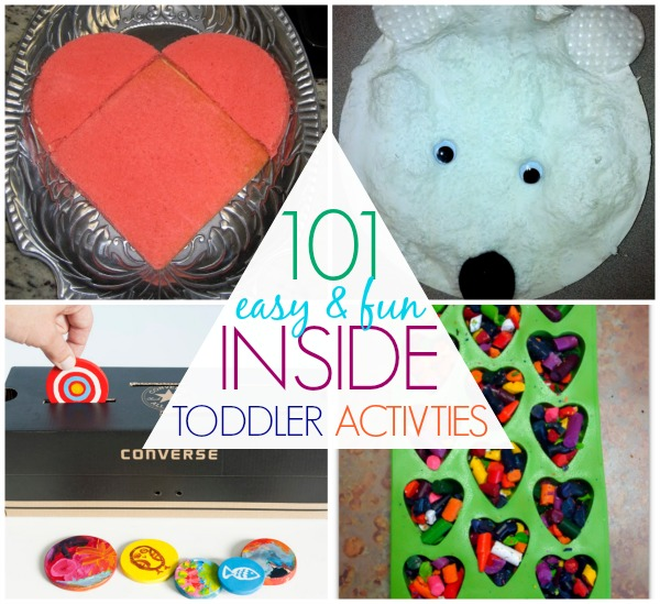 101 Things To Do With Toddlers Indoors C R A F T