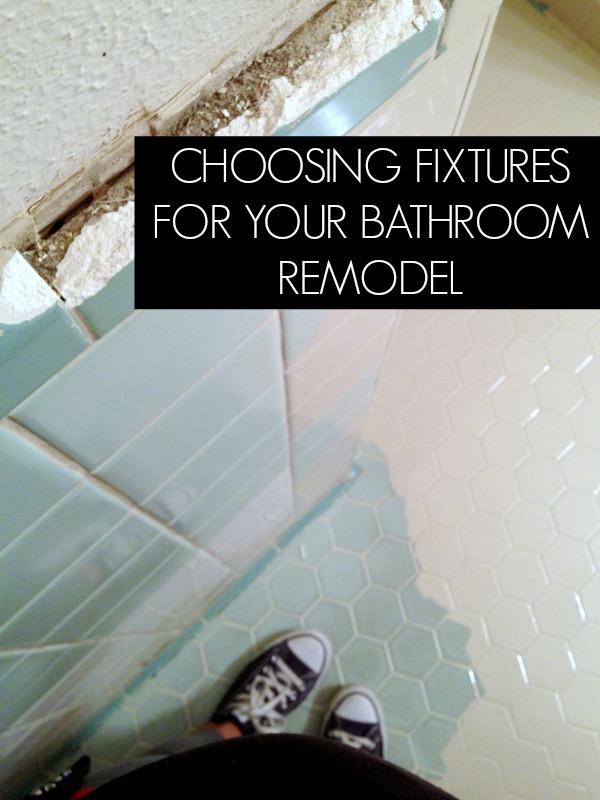 Bathroom Remodel: Choosing Tile For Bathroom {Part 2}
