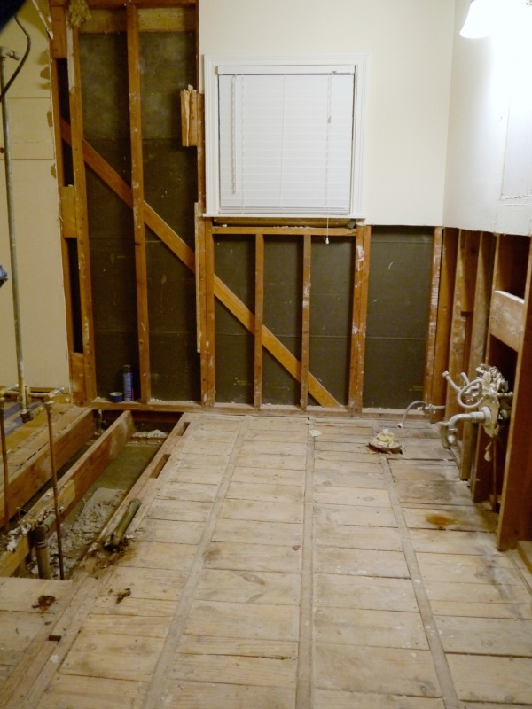 Tips for demolishing a bathroom