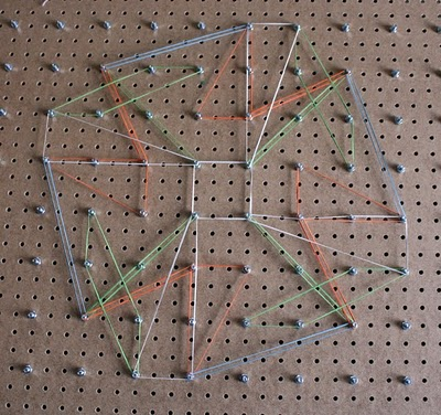 peg board projects for kids
