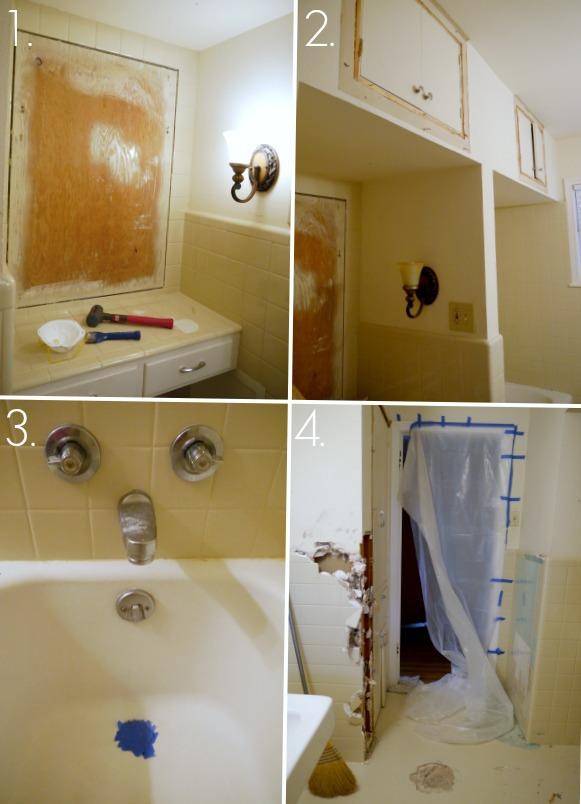 How to demolish a bathroom