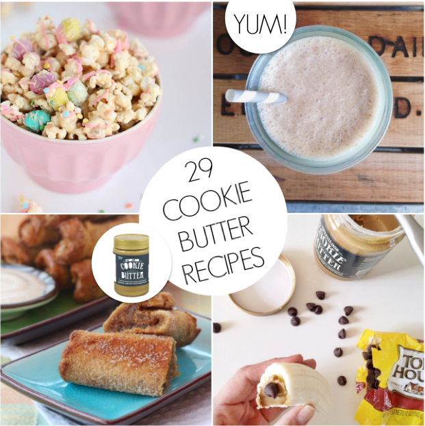 Cookie butter recipes