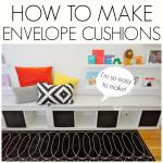 How to make envelope slip covers