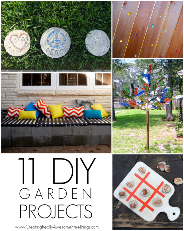 11 diy garden projects c r a f t - Summer projects house garden ...