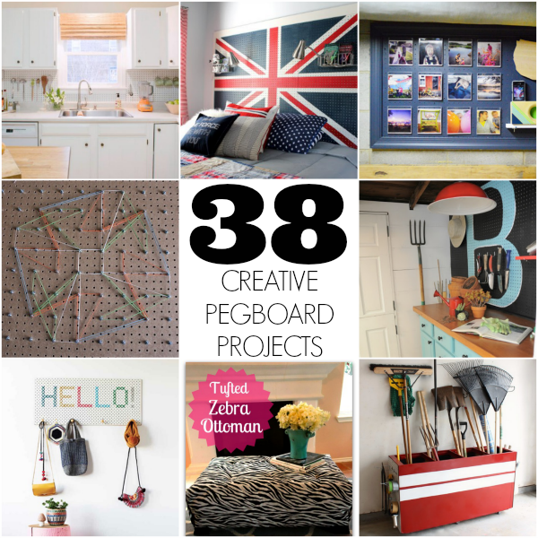 38 DIY Pegboard project ideas - C.R.A.F.T.