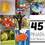 45 Pinata tutorials {How to make a pinata}