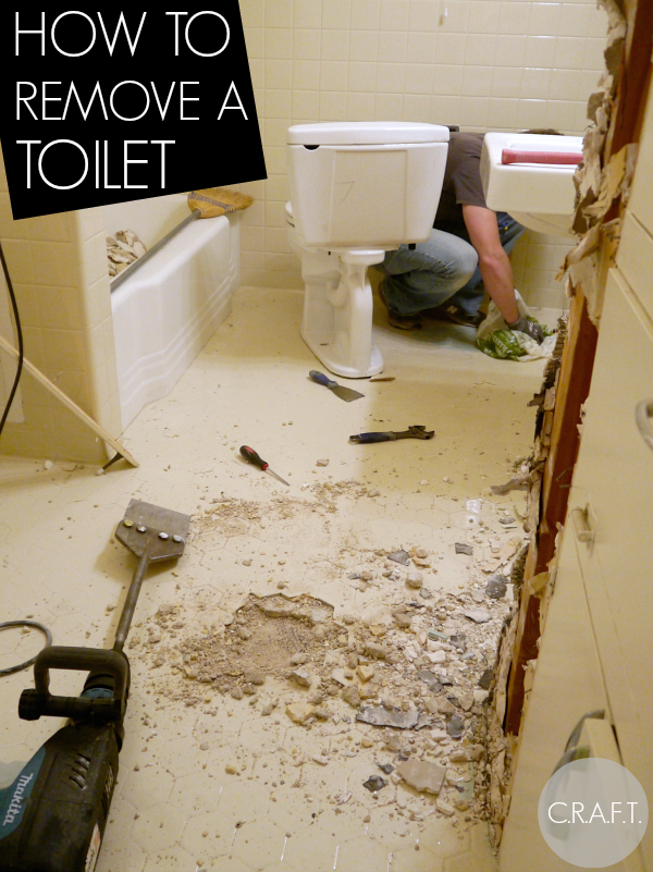 toilets tile and demolition hammers oh my part 3 c r a f t. Black Bedroom Furniture Sets. Home Design Ideas