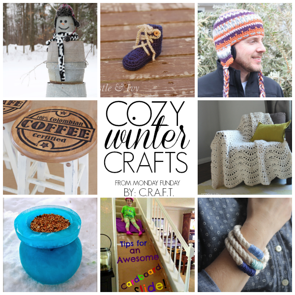 Monday funday 56 winter craft ideas c r a f t for 101 crazy crafting ideas