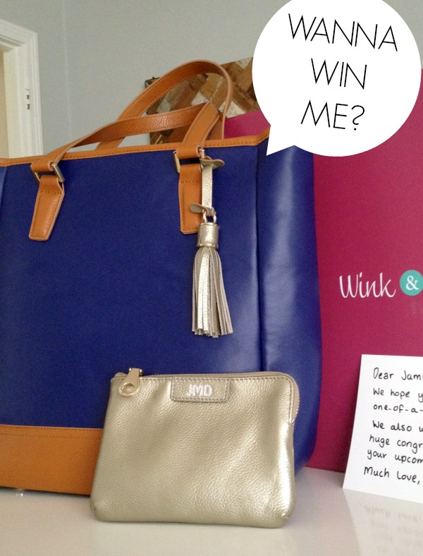 Wink and Winn diaper bag giveaway