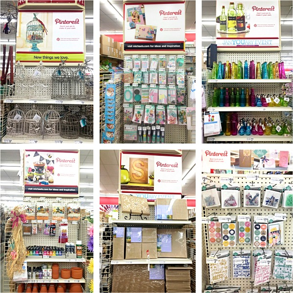 Pinterest party at Michaels