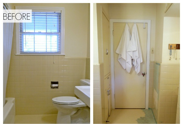 How To Cover Dated Bathroom Tile With Wainscoting Bathroom Ideas