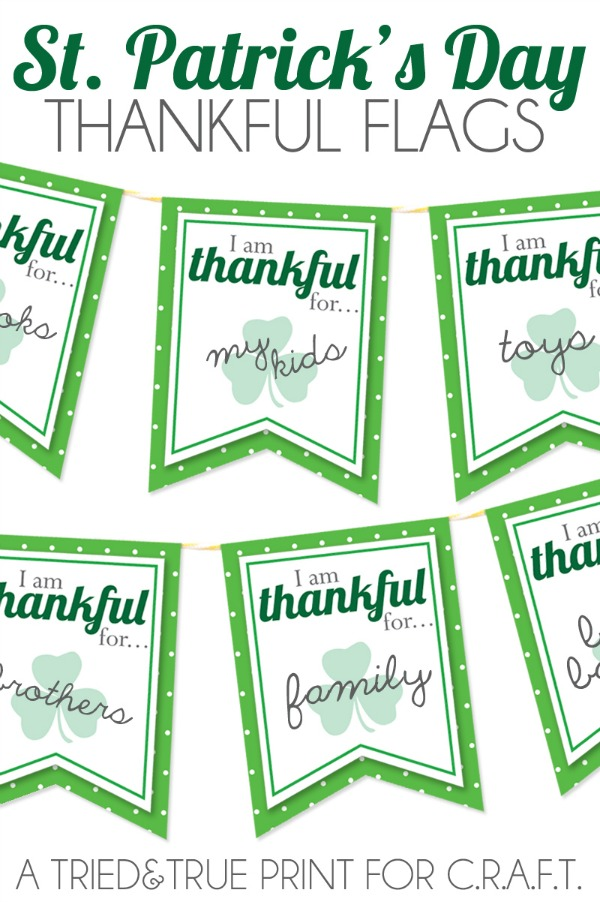 St. Patricks Day printable