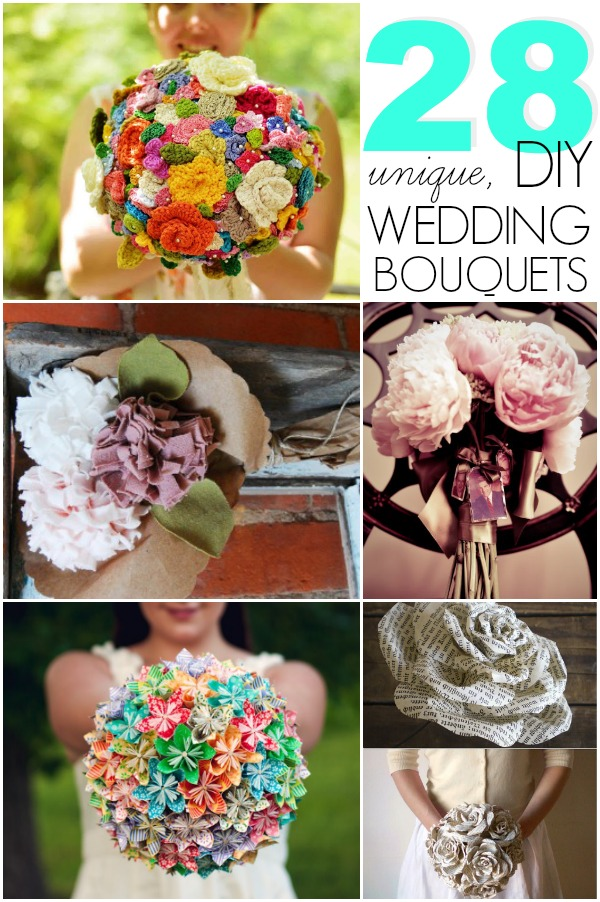 28 DIY wedding bouquet
