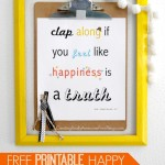 Happy song printable