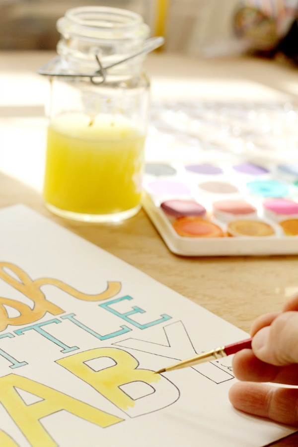 Awesome Printable Coloring Book