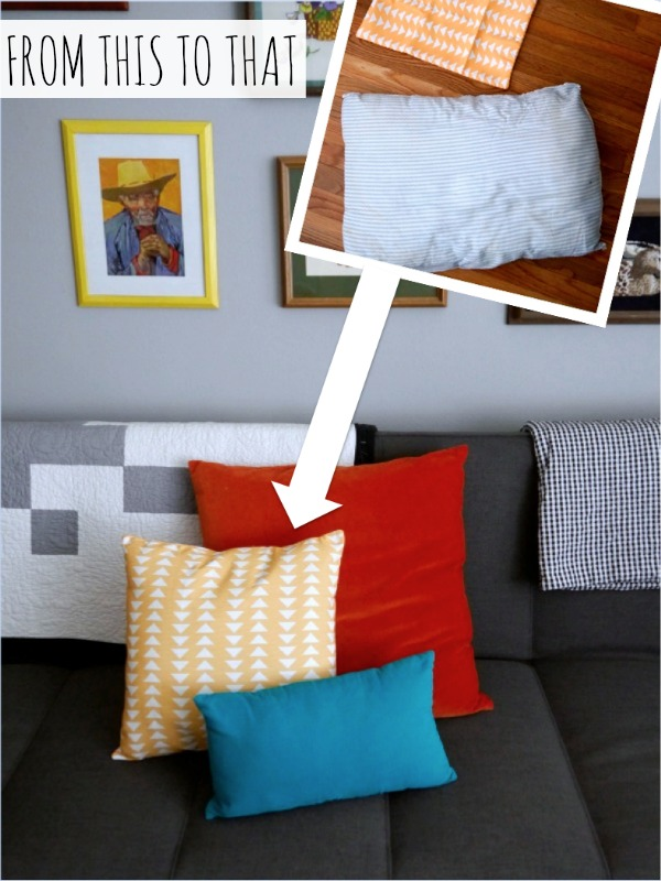 How to make a pillow insert