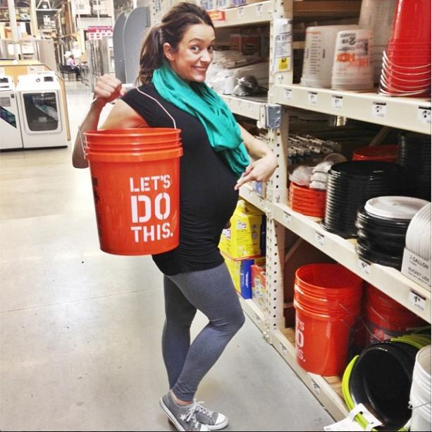 Jamie Dorobek pregnant
