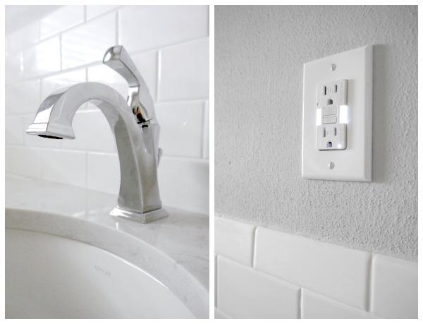 Bathroom remodel details