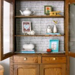 Jazzing up the pie safe {with Fabric Loft}