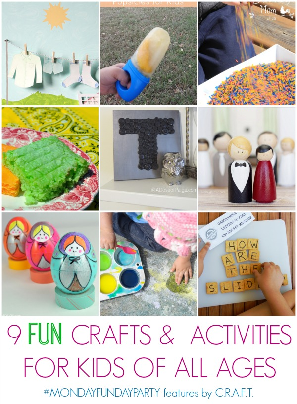 9 fun kids crafts and activities for summer for kids of for Fun crafts for all ages