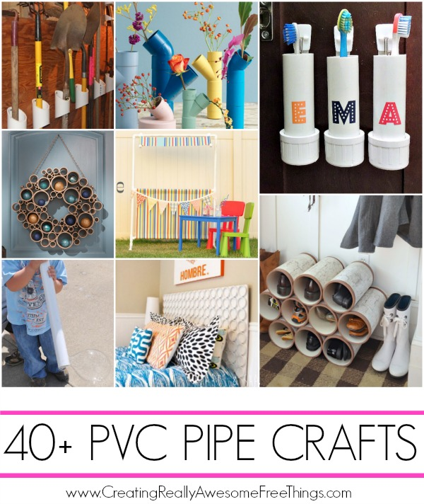 Pvc Pipe Projects C R A F T