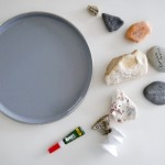A DIY cake stand (or rock stand)