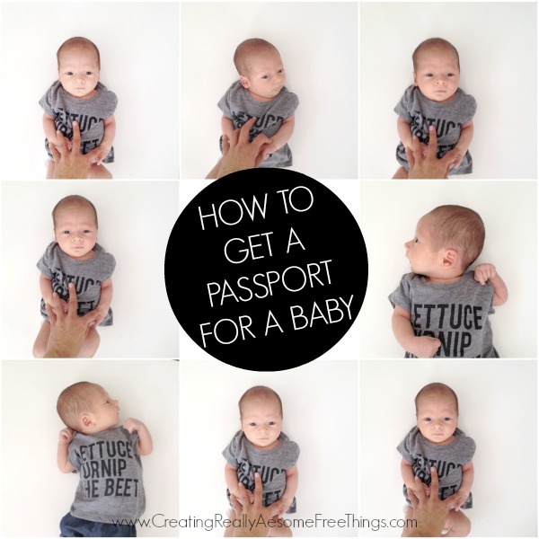 How to get a passport for baby
