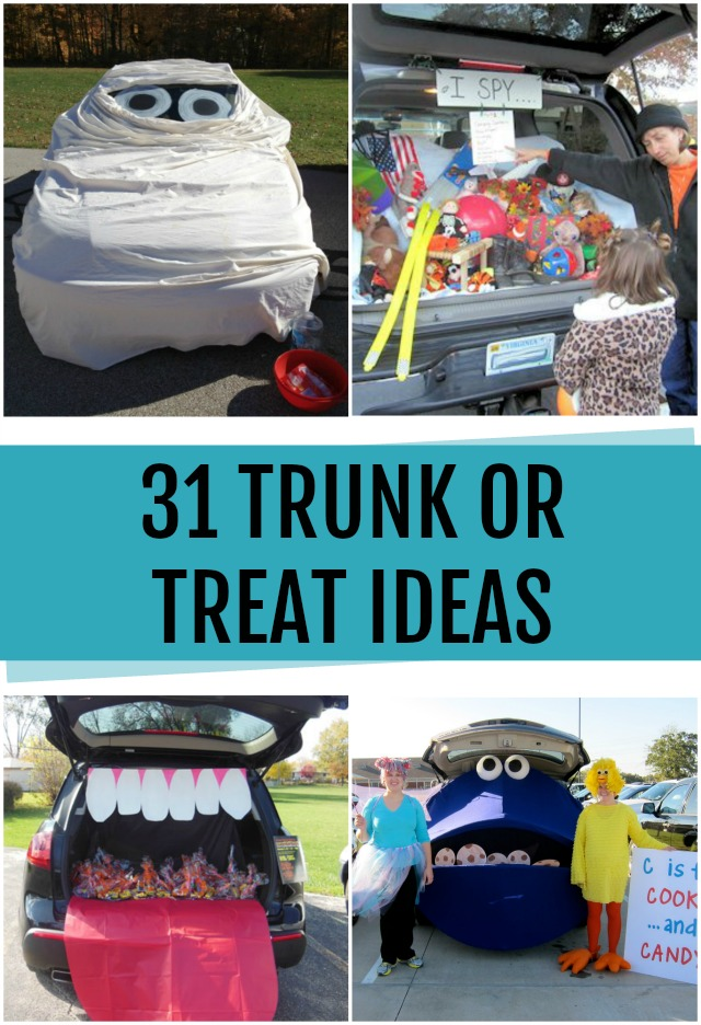 trunk or treat decorating ideas c r a f t. Black Bedroom Furniture Sets. Home Design Ideas