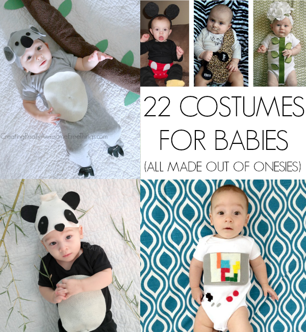 Homemade Halloween costumes for babies  sc 1 st  Creating Really Awesome Fun Things & Homemade Halloween Costumes for Babies - C.R.A.F.T.