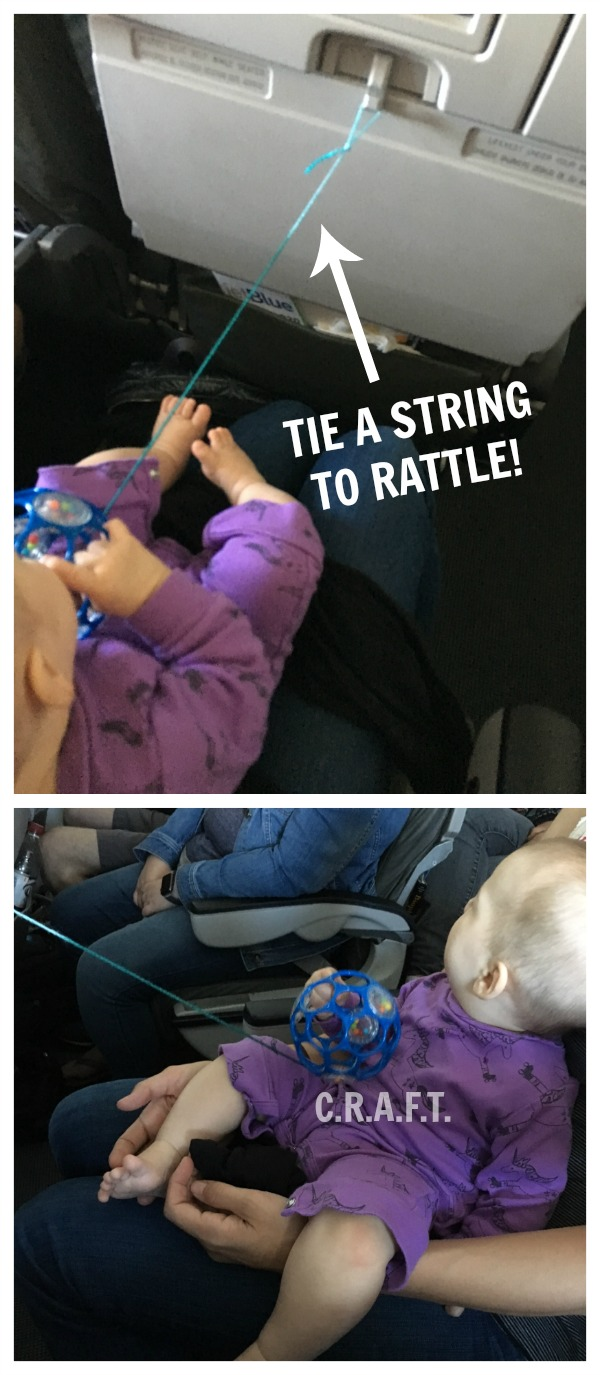 Tips for traveling with a baby via airplane