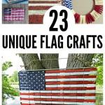 23 unique flag crafts
