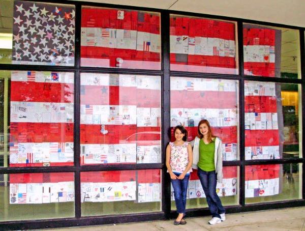 Window Flag quilt