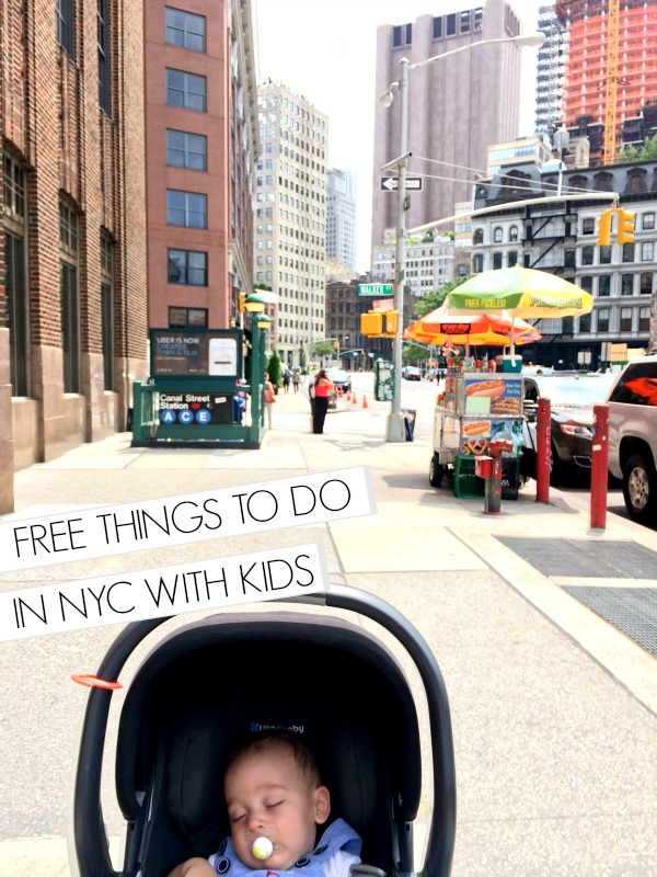 Free things to do in New York City with kids