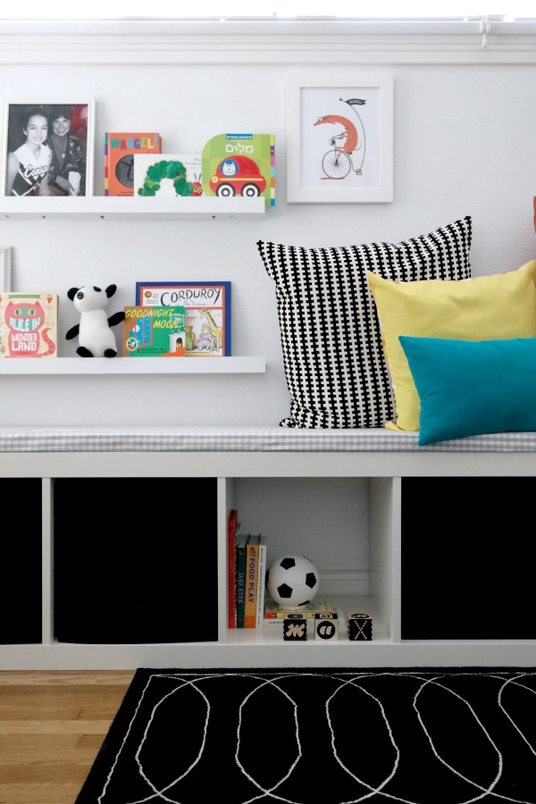 DIY black and white nursery