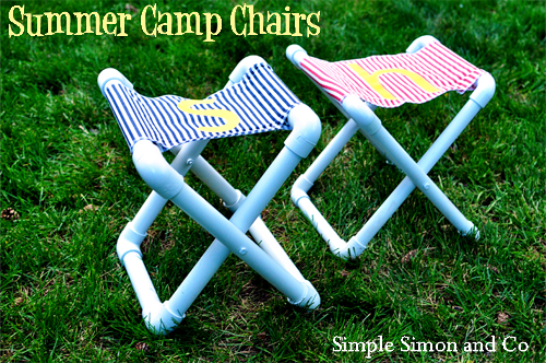 PVC pipe camp chairs