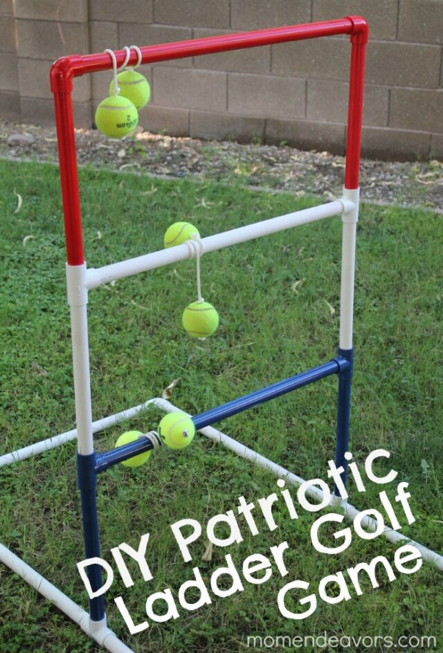 PVC pipe ladder golf