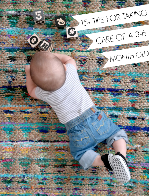 Baby checklist… 15+ tips I've learned about 3-6 month olds