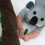Koala bear baby costume {cute baby costumes}