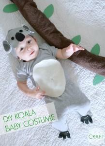 Koala bear baby costume {+ cute baby costumes}