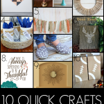 Monday Funday #84 {Quick crafts}